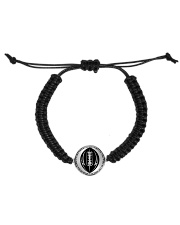 Your talent is God's gift to you Football Nhg07 Cord Circle Bracelet thumbnail