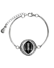 Your talent is God's gift to you Football Nhg07 Metallic Circle Bracelet thumbnail