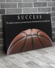 SUCCESS Basketball Canvas 36x24 Gallery Wrapped Canvas Prints aos-canvas-pgw-36x24-lifestyle-front-06