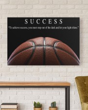 SUCCESS Basketball Canvas 36x24 Gallery Wrapped Canvas Prints aos-canvas-pgw-36x24-lifestyle-front-17