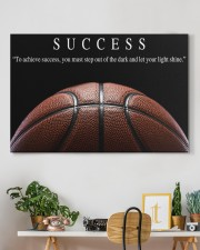 SUCCESS Basketball Canvas 36x24 Gallery Wrapped Canvas Prints aos-canvas-pgw-36x24-lifestyle-front-18