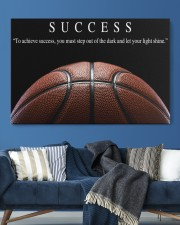 SUCCESS Basketball Canvas 36x24 Gallery Wrapped Canvas Prints aos-canvas-pgw-36x24-lifestyle-front-20