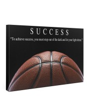 SUCCESS Basketball Canvas 36x24 Gallery Wrapped Canvas Prints front