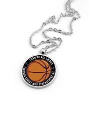I Can Do All Things Basketball Nhg07 Metallic Circle Necklace aos-necklace-circle-metallic-lifestyle-05