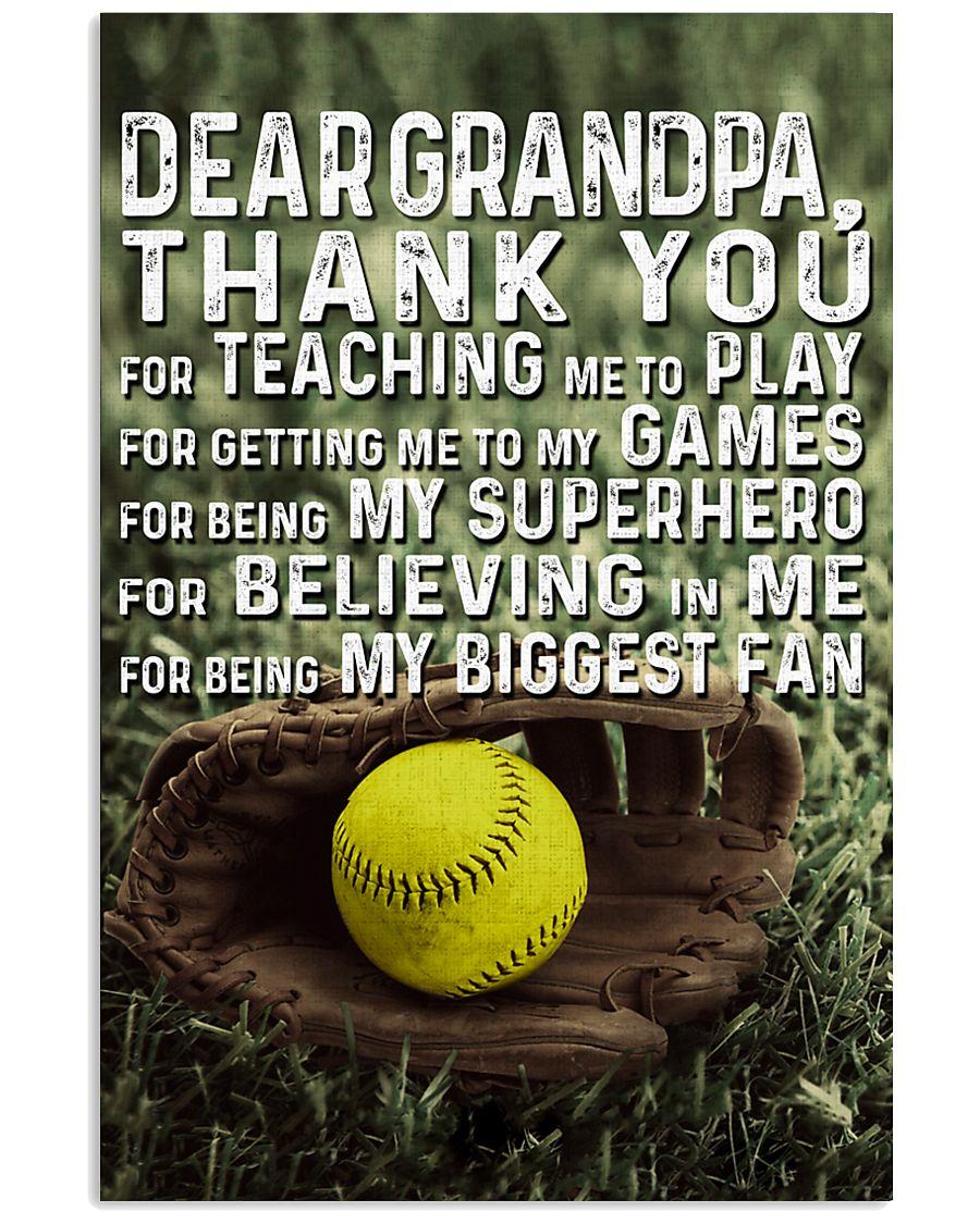 Thank you Grandpa Nhg07 11x17 Poster