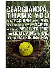 Thank you Grandpa Nhg07 11x17 Poster front