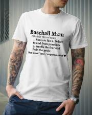 Baseball Mom Definition SUR Classic T-Shirt lifestyle-mens-crewneck-front-6