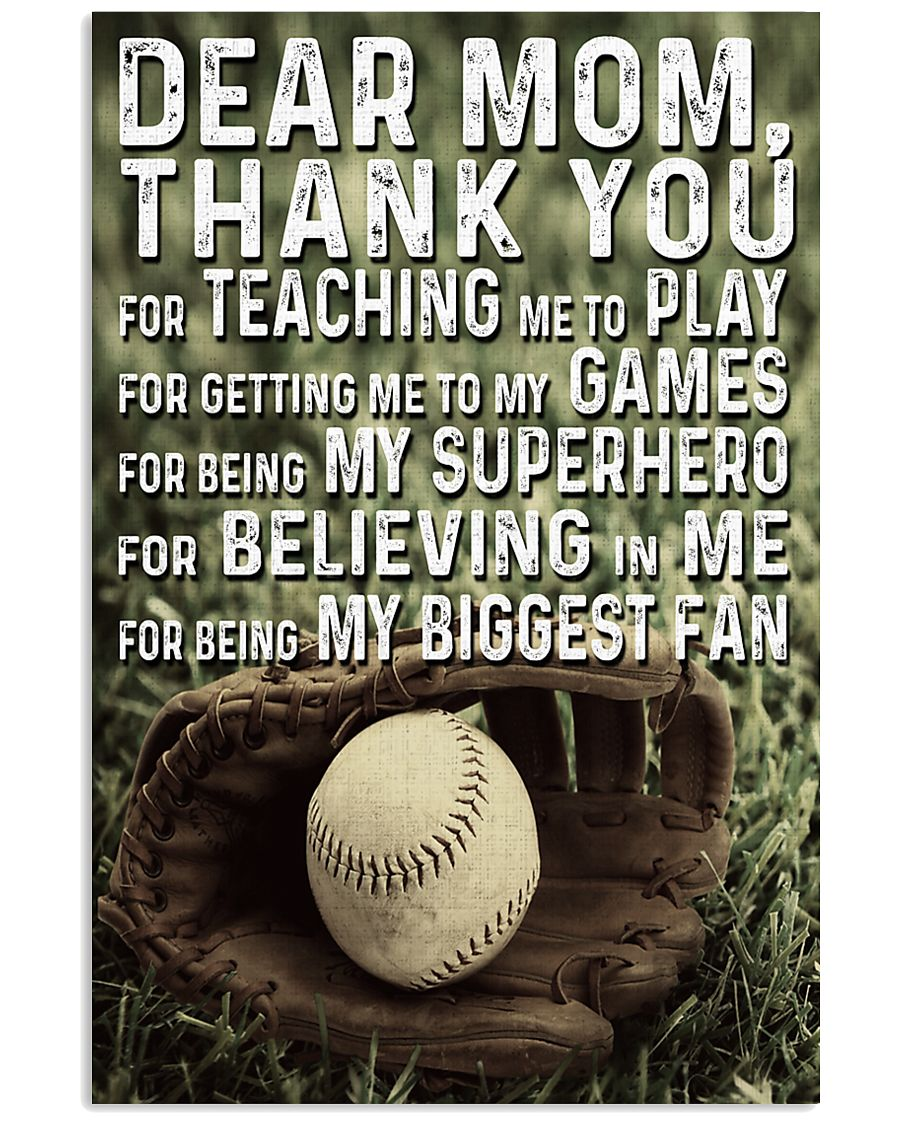 Thank you Mom 11x17 Poster