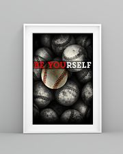 Be Yourself Baseball Poster 11x17 Poster lifestyle-poster-5