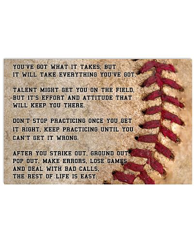 Motivational Baseball Nhg07