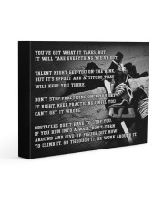 Motivational Hockey Canvas Nhg07 Gallery Wrapped Canvas Prints tile