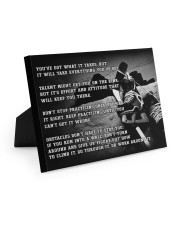Motivational Hockey Canvas Nhg07 10x8 Easel-Back Gallery Wrapped Canvas thumbnail