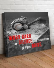 Let your Success Be Your Noise Baseball 24x20 Gallery Wrapped Canvas Prints aos-canvas-pgw-24x20-lifestyle-front-08