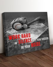 Let your Success Be Your Noise Baseball 24x20 Gallery Wrapped Canvas Prints aos-canvas-pgw-24x20-lifestyle-front-11