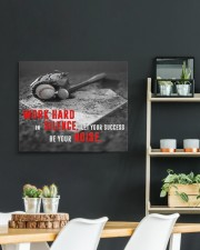 Let your Success Be Your Noise Baseball 24x20 Gallery Wrapped Canvas Prints aos-canvas-pgw-24x20-lifestyle-front-19