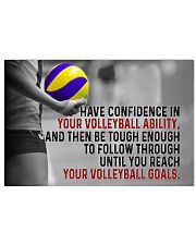 Volleyball Goals 36x24 Poster front