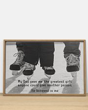 My Dad Believed In Me Hockey version 36x24 Poster poster-landscape-36x24-lifestyle-03
