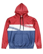 Retro Baseball Nhg07 Men's All Over Print Hoodie front