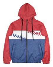 Retro Baseball Nhg07 Men's All Over Print Full Zip Hoodie tile