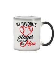 My Favorite Player Calls Me Mom Nhg07 Color Changing Mug tile