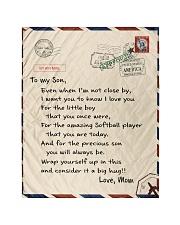 """Softball Letter Blanket Quilt 40""""x50"""" - Baby thumbnail"""