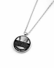 Thank You Coach Necklace Nhg07 Metallic Circle Necklace aos-necklace-circle-metallic-lifestyle-04