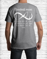 Baseball mom Classic T-Shirt lifestyle-mens-crewneck-back-1