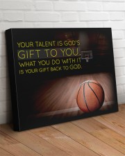 Your Talent Is God's Gift To You Basketball 24x20 Gallery Wrapped Canvas Prints aos-canvas-pgw-24x20-lifestyle-front-08