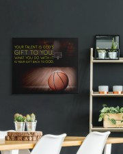 Your Talent Is God's Gift To You Basketball 24x20 Gallery Wrapped Canvas Prints aos-canvas-pgw-24x20-lifestyle-front-19