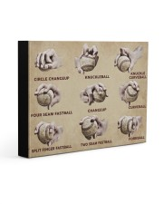 Baseball Pitching Grips Gallery Wrapped Canvas Prints tile