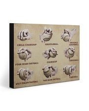 Baseball Pitching Grips 20x16 Gallery Wrapped Canvas Prints front