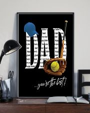 Dad - You're the best  11x17 Poster lifestyle-poster-2