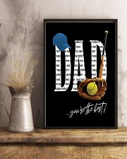 Dad - You're the best  11x17 Poster lifestyle-poster-3