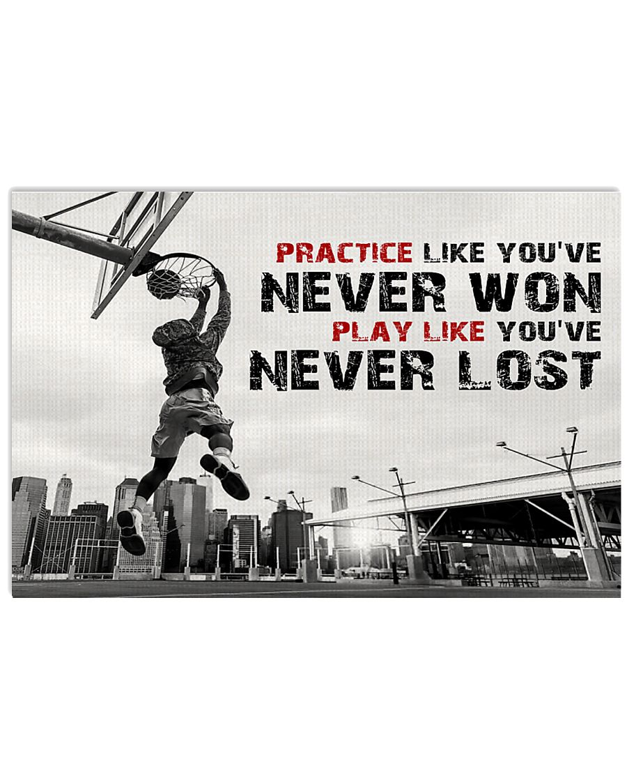 Motivational Basketball 17x11 Poster