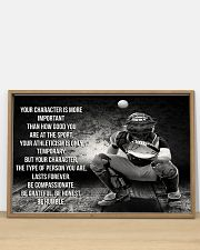 BE GRATEFUL BE HONEST BE HUMBLE Baseball ver 36x24 Poster poster-landscape-36x24-lifestyle-03