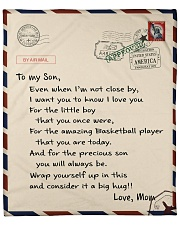 Basketball Letter Blanket Fleece Blanket tile