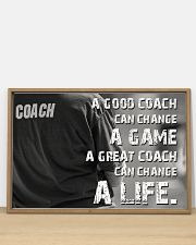 A Great Coach Can Change A Life Baseball 36x24 Poster poster-landscape-36x24-lifestyle-03