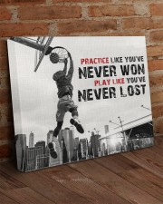Practice Basketball Canvas Nhg07 24x20 Gallery Wrapped Canvas Prints aos-canvas-pgw-24x20-lifestyle-front-03