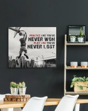 Practice Basketball Canvas Nhg07 24x20 Gallery Wrapped Canvas Prints aos-canvas-pgw-24x20-lifestyle-front-19