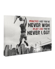 Practice Basketball Canvas Nhg07 Gallery Wrapped Canvas Prints tile