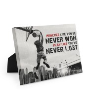 Practice Basketball Canvas Nhg07 10x8 Easel-Back Gallery Wrapped Canvas thumbnail