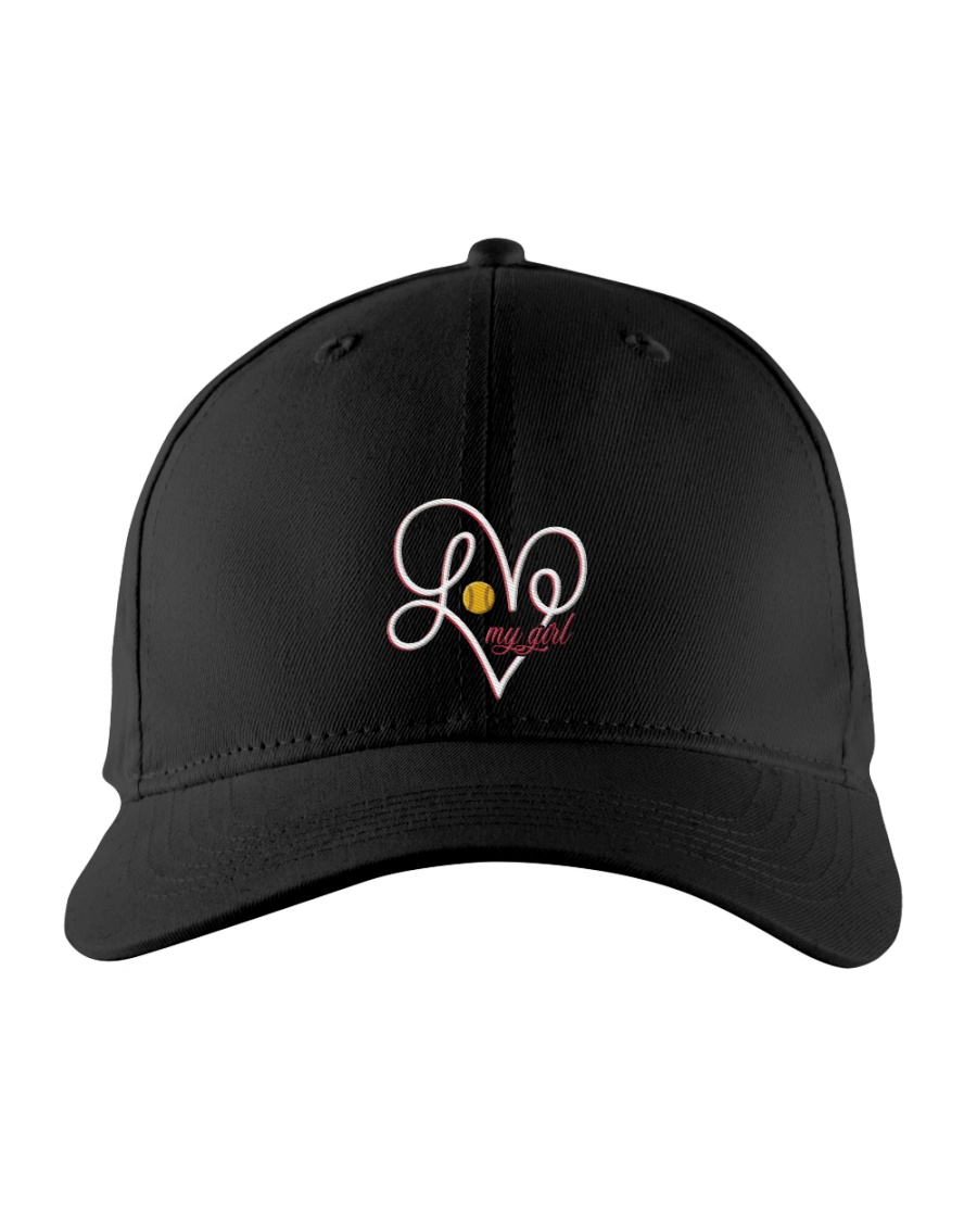 Love my girl ncl04 Embroidered Hat