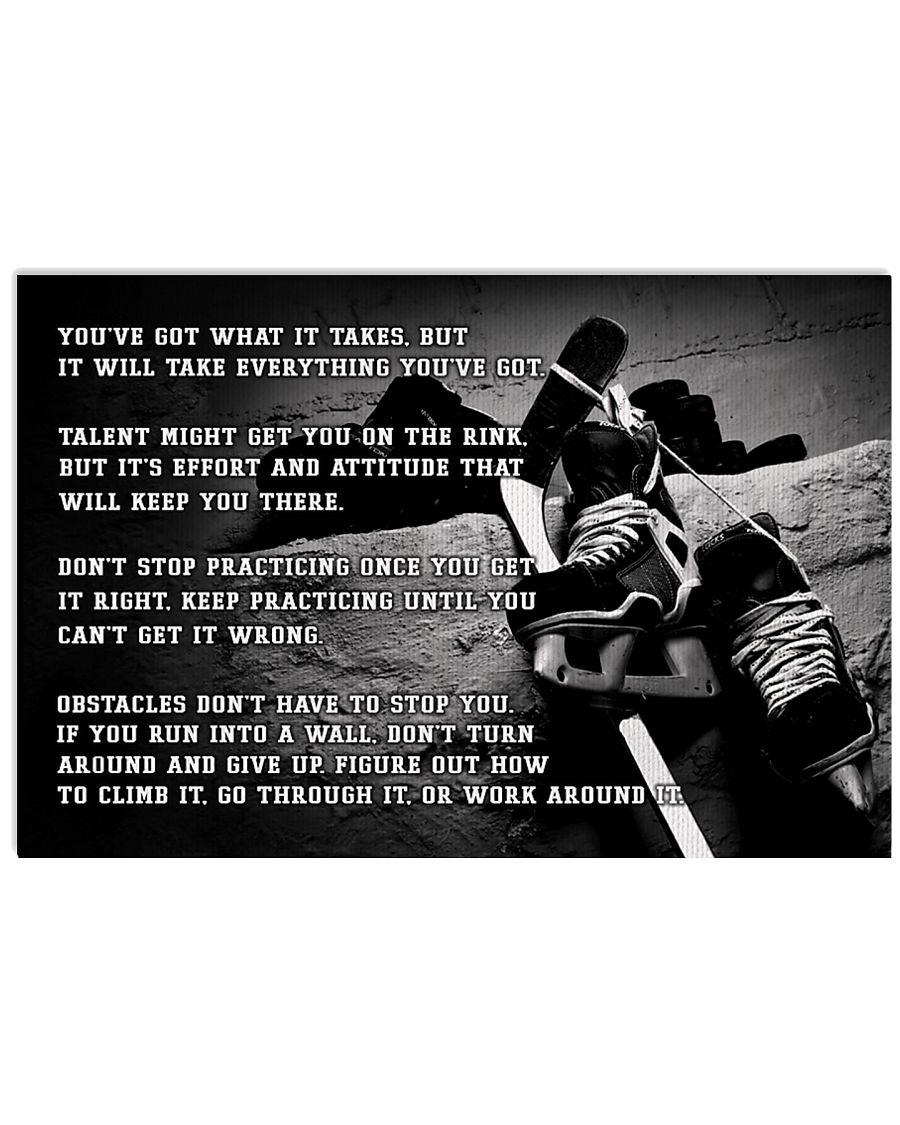 Motivational Hockey Nhg07 36x24 Poster