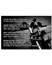 Motivational Hockey Nhg07 36x24 Poster front