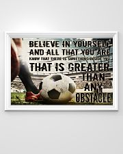 Believe In Yourself Soccer Version 36x24 Poster poster-landscape-36x24-lifestyle-02