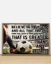 Believe In Yourself Soccer Version 36x24 Poster poster-landscape-36x24-lifestyle-03