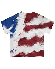 Limited Edition Baseball Flag Nhg07 All-over T-Shirt back