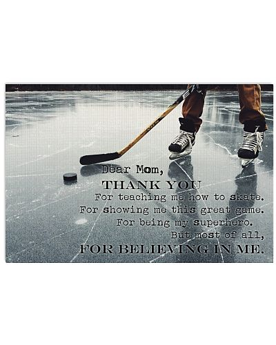 Dear Mom Thanks For Everything Hockey version