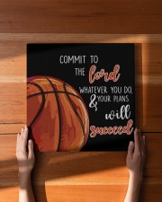Commit To The Lord Basketball ver Nhg07 16x16 Gallery Wrapped Canvas Prints aos-canvas-pgw-16x16-lifestyle-front-22