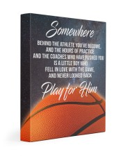 Play For Him Basketball Canvas Nhg07 Gallery Wrapped Canvas Prints tile